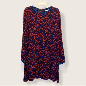 NWT Popsugar Cherry Dream Fresh Prep Flounce Dress